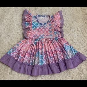 Other - NEW Mermaid Dress Toddler 6-12M 12-18M 2T 3T 4T